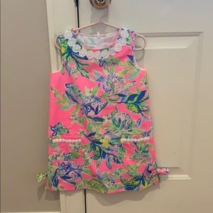 Bright toddler Lilly dress